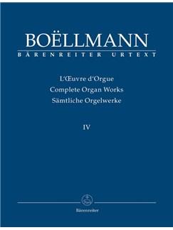 L. Boellmann: Organ Works Vol.4 - Arrangements For Organ And Harmonium Books | Organ, Harmonium