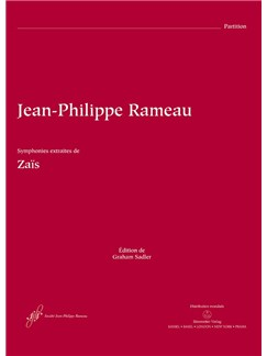J-P. Rameau: Zais Symphonies - Instrumental Extracts (Full Score) Books | Orchestra