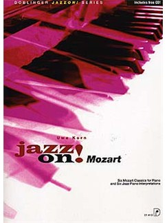 Uwe Korn: Jazz On! Mozart Books and CDs | Piano