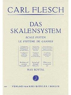 Carl Flesch: Scale System (Violin) Books | Violin