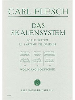 Scale System for Cello Books | Cello