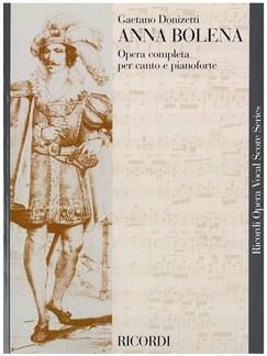 Gaetano Donizetti: Anna Bolena - Opera Vocal Score Books | Opera