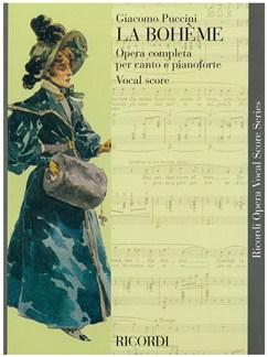 Giacomo Puccini: La Boheme - Opera Vocal Score Books | Opera