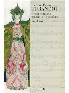 Giacomo Puccini: Turandot (Vocal Score) Books | Opera