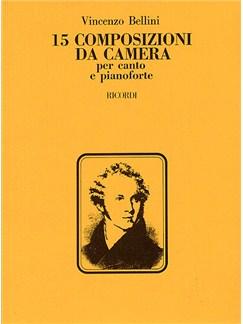 Vincenzo Bellini: 15 Composizioni Da Camera Books | High Voice, Piano Accompaniment