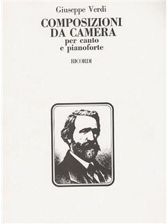 Giuseppe Verdi: Composizioni Da Camera Books | Voice, Piano Accompaniment