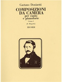 Gaetono Donizetti: Composizioni Da Camera - Volume 1 Books | Voice, Piano Accompaniment