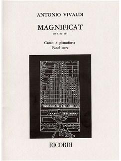 Antonio Vivaldi: Magnificat RV 610a-611 (Vocal Score) Books | SATB, Piano Accompaniment