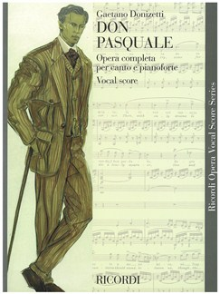 Gaetano Donizetti: Don Pasquale - Opera Vocal Score Books | Opera Vocal Score
