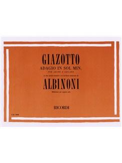 Tomaso Albinoni/Remo Giazotto: Adagio In G Minor (Organ) Books | Organ