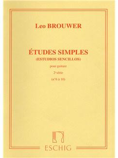 Leo Brouwer: Études Simples - 2nd Serie Books | Guitar