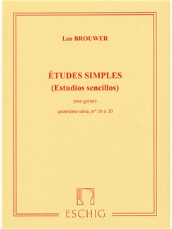 Leo Brouwer: Etudes Simples - 4th Serie Books | Guitar