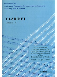 Scales And Arpeggios For Clarinet (Sparke ed.) Grades 1-8 Books | Clarinet