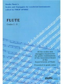 Scales And Arpeggios For Flute (Sparke ed.) Grades 1-8 Books | Flute