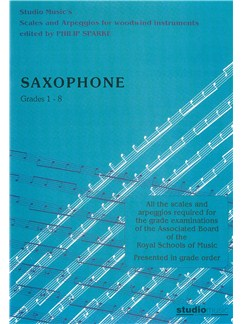 Philip Sparke: Scales And Arpeggios For Saxophone Books | Saxophone