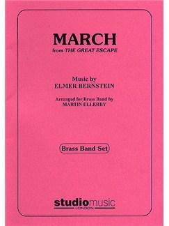 Elmer Bernstein: March (The Great Escape) - Brass Band Set Books   Brass Ensemble