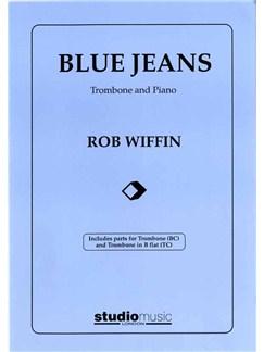 Rob Wiffin: Blue Jeans - Trombone/Piano Accompaniment Books | Trombone, Piano Accompaniment