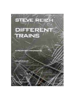 Steve Reich: Different Trains - String Quartet Parts/CD Books and CDs | String Quartet