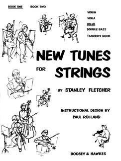 Stanley Fletcher: New Tunes For Strings 1 Cello Books | Cello