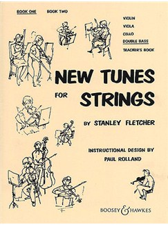 Stanley Fletcher: New Tunes For Strings 1(Double Bass) Books | Double Bass