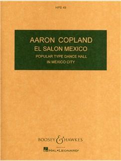 Aaron Copland: El Salon Mexico Books   Orchestra