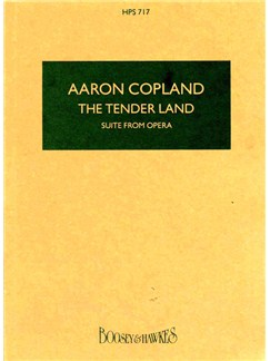 Tender Land Suite Books | Score