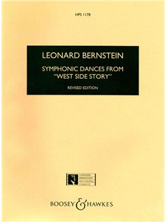 Leonard Bernstein: Symphonic Dances From West Side Story Books | Orchestra, Score