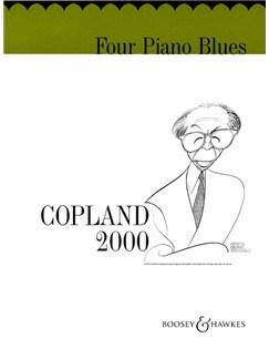 Aaron Copland: Four Piano Blues Books | Piano