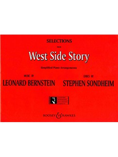 Leonard Bernstein: Selections (West Side Story) - Simplified Piano Arrangements Books | Piano