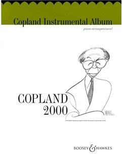 Copland Instrumental Album: Piano Accompaniment Book Books | Piano Accompaniment