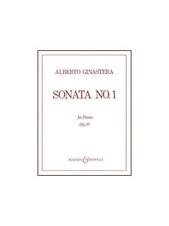 Alberto Ginastera: Sonata 1 Op.22 Books | Piano