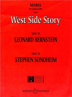 Leonard Bernstein: Maria (West Side Story) Books | Piano