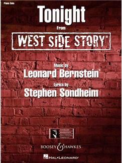 Leonard Bernstein: Tonight (West Side Story) - Piano Solo Books | Piano