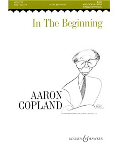 Aaron Copland: In The Beginning Books | SATB, Mezzo-Soprano