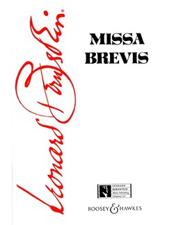 Leonard Bernstein: Missa Brevis Books | SATB
