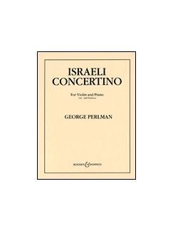 George Perlman: Israeli Concertino Books | Violin, Piano Accompaniment