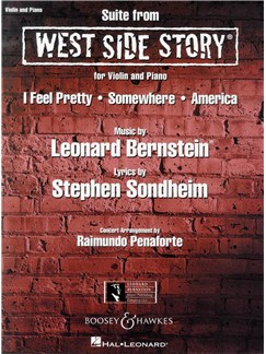 Leonard Bernstein: West Side Story Suite Books | Violin, Piano Accompaniment