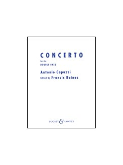 Antonio Capuzzi: Double Bass Concerto In F (Double Bass/Piano) Books | Double Bass, Piano Accompaniment