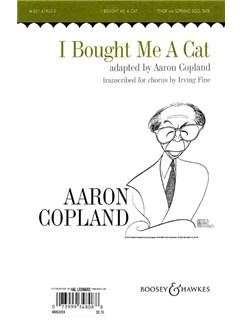 I Bought Me A Cat (SATB) Books | Soprano, Tenor, SATB