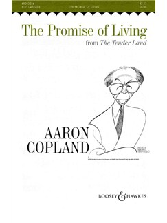 Copland: Promise of Living SATBB Books | SATBB