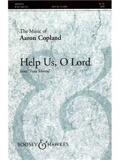 Aaron Copland: Help Us, O Lord Books | SATB