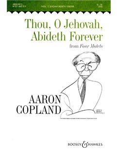 Aaron Copland: Thou, O Jehovah, Abideth Forever Books | SATB