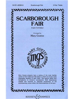 Scarborough Fair (SSA) Books | SSA