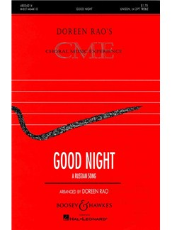Good Night: A Russian Song Books | 2-Part Choir, Piano Accompaniment