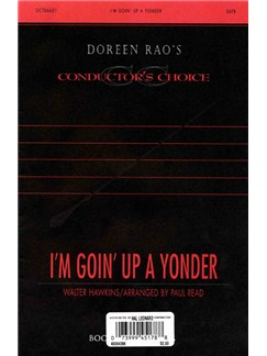 Walter Hawkins: I'm Goin' Up A Yonder Books | SATB, Piano Accompaniment