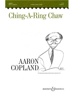 Aaron Copland: Ching-a-Ring Chaw Books | Unison Voice, Piano Accompaniment