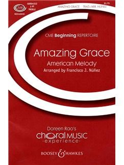 Amazing Grace (3-Part Treble arr. Nunez) Books | SSA, Piano Accompaniment