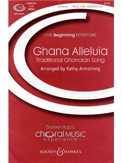 Kathy Armstrong: Ghana Alleluia Books | SSA, Percussion