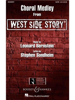Leonard Bernstein: Choral Medley (West Side Story) Books | SATB, Piano Accompaniment