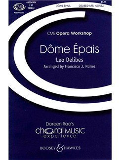 Leo Delibes: Dome Epais Books | 2-Part Choir, Piano Accompaniment